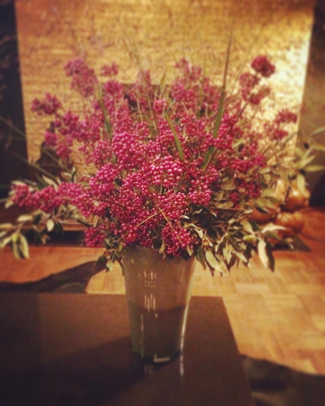 calicarpa berries purple henrydean vase flowers athome autumn flowershop antwerp florartesantwerp