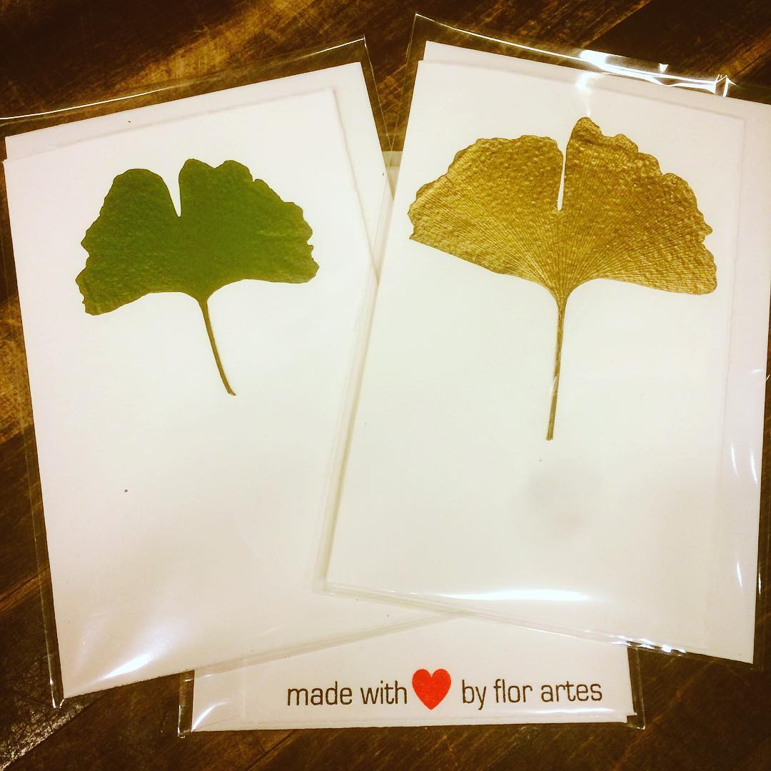 ourowncardcollection ginkgo gold green dried real exclusive madewithlove flowershop antwerp florartesantwerp