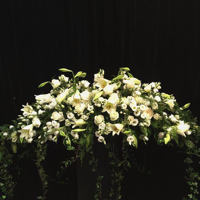 Coffin arangement