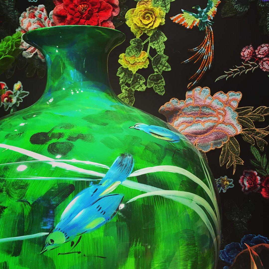 Big Birdy vase